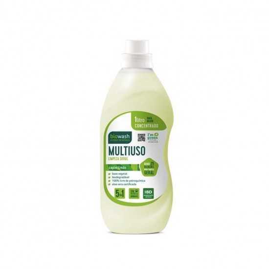 Concentrado Multiuso Capim Limão Orgânico 1L - Biowash