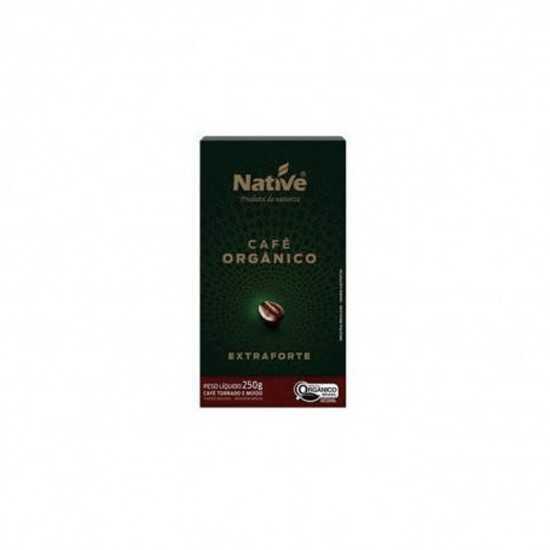 Café Torrado e Moído Extra Forte Orgânico 250g - Native