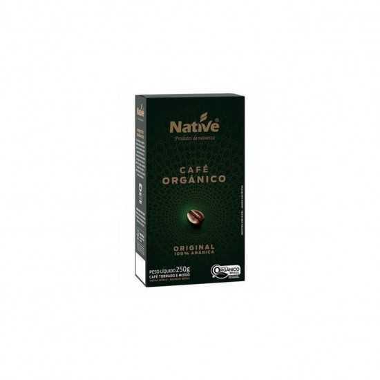 Café Torrado e Moído Orgânico 250g - Native