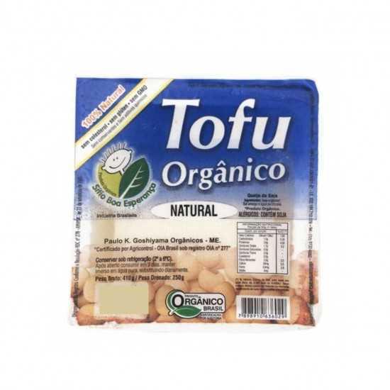 Tofu Orgânico Natural 250g - Sítio Boa Esperança