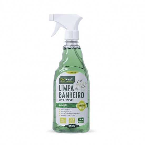 Limpa Banheiro Gatilho Orgânico 650ml - Biowash