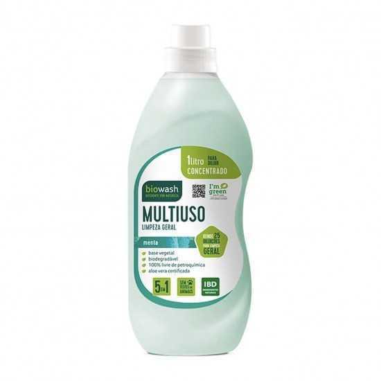 Concentrado Multiuso Menta Orgânico 1L - Biowash