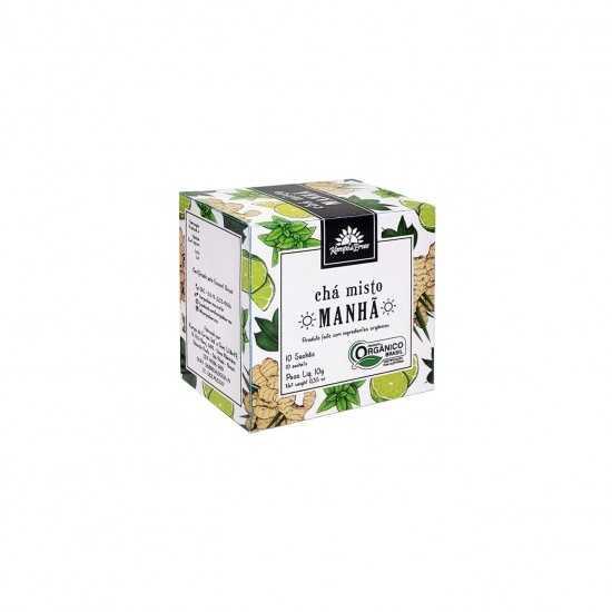 Chá Misto Manhã Orgânico 10 Saches - Kampo de Ervas