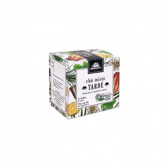 Chá Misto Tarde Orgânico 10 Saches - Kampo de Ervas
