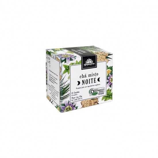 Chá Misto Noite Orgânico 10 Saches - Kampo de Ervas