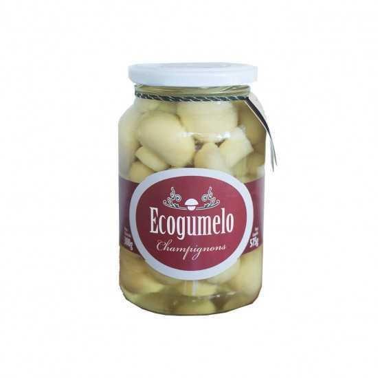 Cogumelo Champignon Orgânico Em Conserva 300g - Ecogumelo