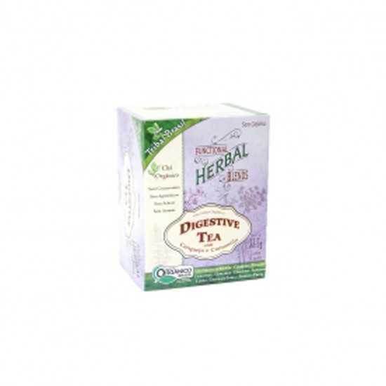 Chá Digestive Tea Orgânico 15 Sachês - Tribal Brasil