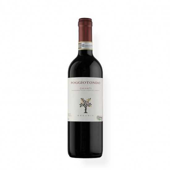 Vinho Orgânico Chianti 2018 750ml - Poggiotondo