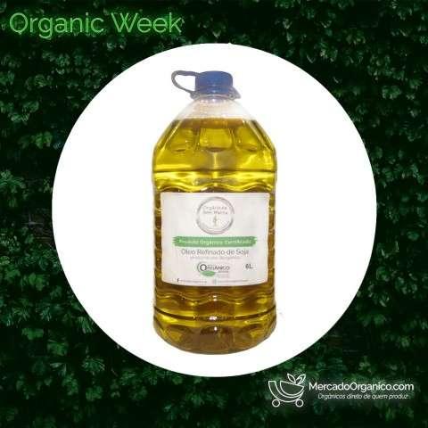 Óleo de Soja Orgânico 6L - OSM