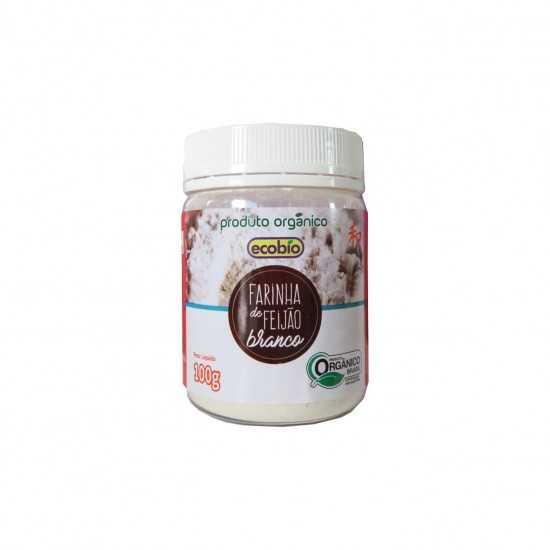 Farinha de Feijão Branco Orgânica 100g - Ecobio