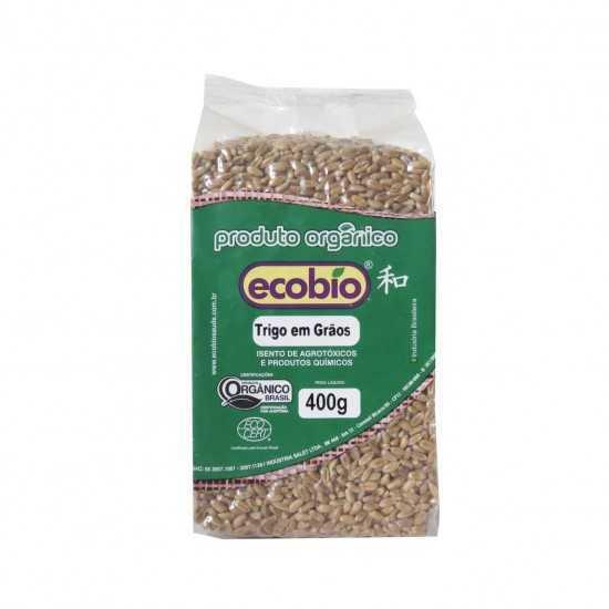 Trigo em Grãos Orgânico 400g - Ecobio