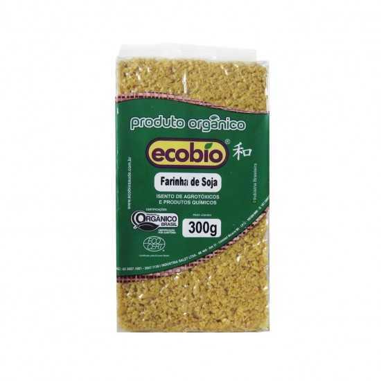 Farinha de Soja Orgânica 300g - Ecobio