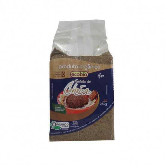 Farinha de Chia Integral Orgânica 250g - Ecobio