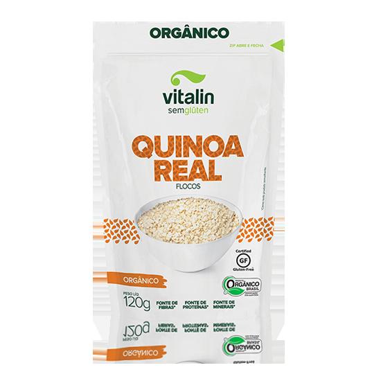 Quinoa Real em Flocos Sem...