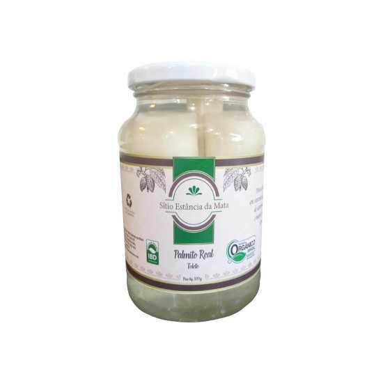 Palmito Real Tolete Orgânico em Conserva 300g - Sítio Estância da Mata