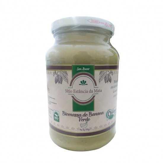 Biomassa de Banana Verde Orgânica 550g - Sítio Estância da Mata
