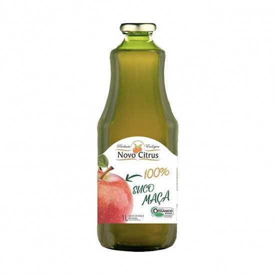 Suco de Maçã Integral Orgânico 1L - Novo Citrus