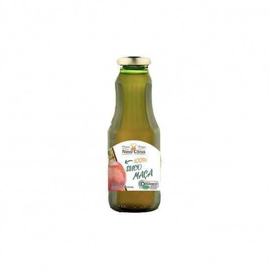 Suco de Maçã Integral Orgânico 300ml - Novo Citrus
