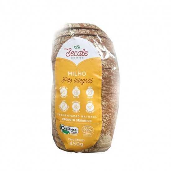 Pão Orgânico de Milho 450g...