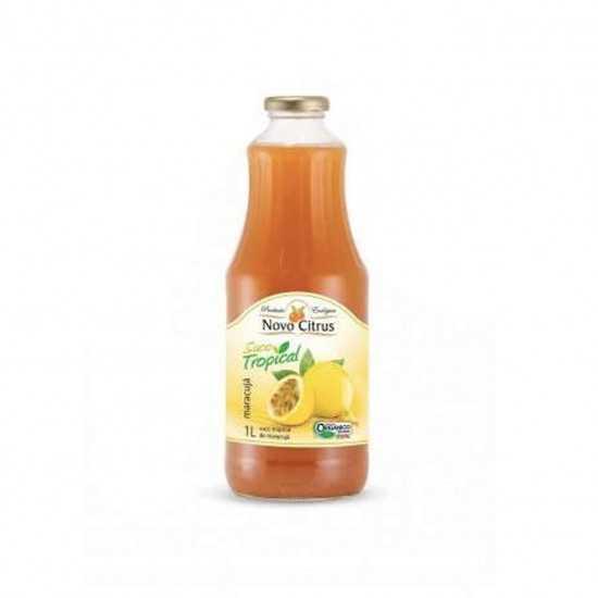 Néctar de Maracujá Orgânico 1L - Novo Citrus