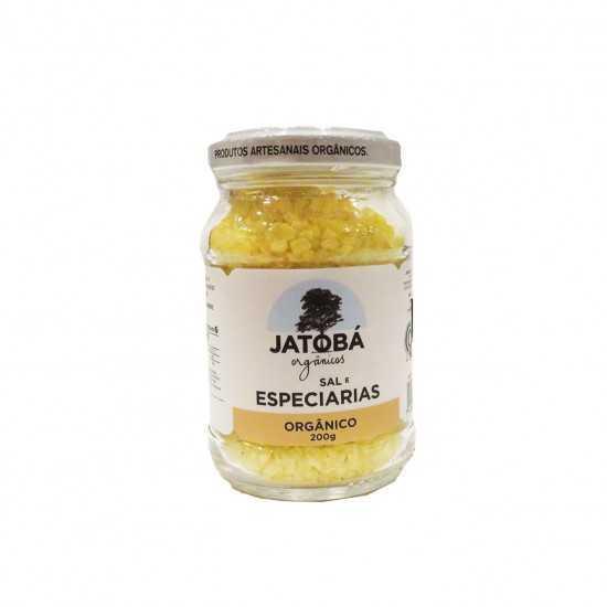 Sal com Especiarias Orgânico 200g - Jatobá