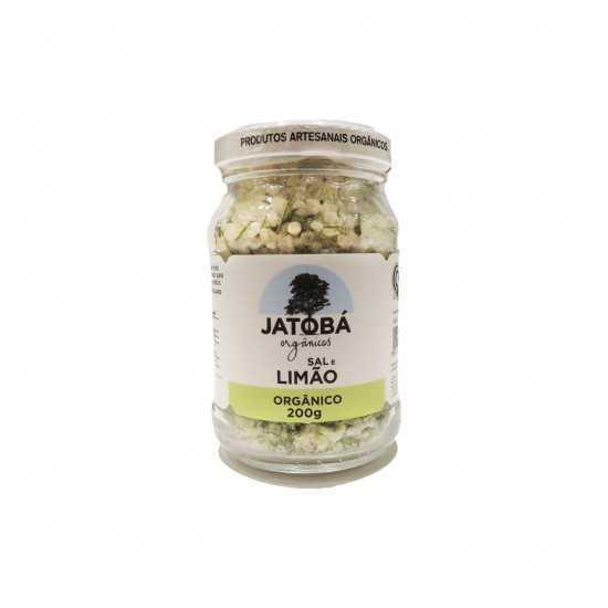 Sal com Limão e Ervas Orgânico 200g - Jatobá