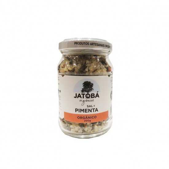 Sal com Pimenta e Ervas Orgânico 200g - Jatobá