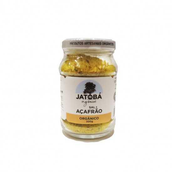 Sal com Açafrão e Ervas Orgânico 200g - Jatobá