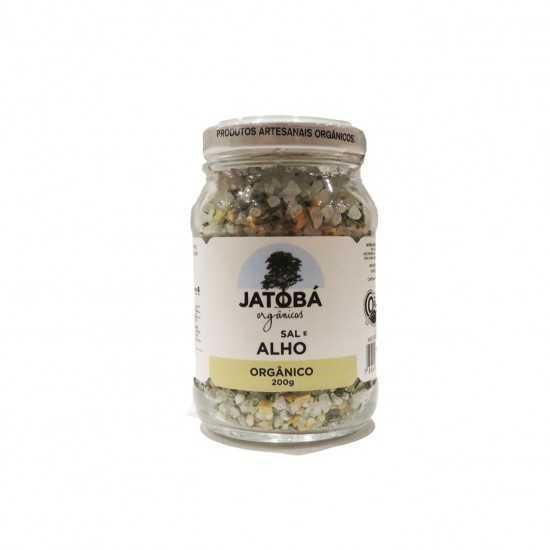 Sal com Alho e Ervas Orgânico 200g - Jatobá
