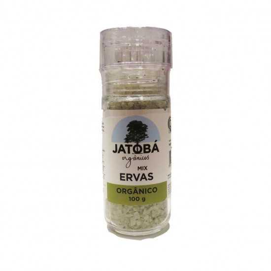 Moedor Mix de Sal com Ervas...