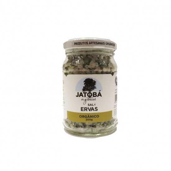 Sal com Ervas Orgânico 200g - Jatobá