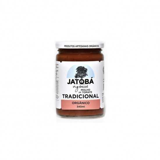 Molho de Tomate Tradicional Orgânico 340g - Jatobá