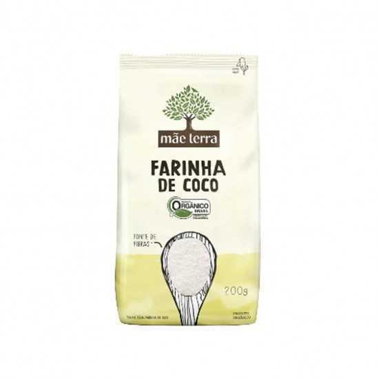 Farinha de Coco Orgânica 200g - Mãe Terra