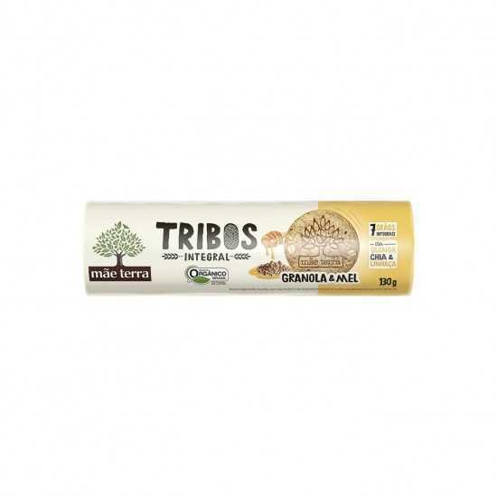 Biscoito Integral com Mel e Granola Tribos Orgânico 130g - Mãe Terra