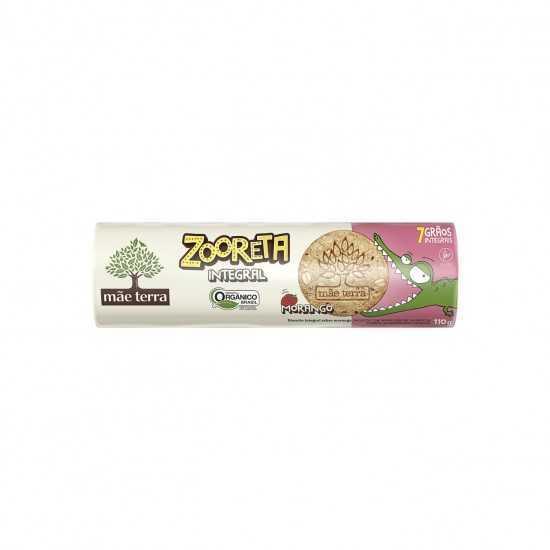Biscoito Integral de Morango Orgânico Zooreta 110g - Mãe Terra