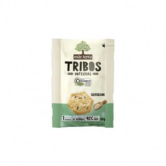 Snacks de Gergelim Orgânico Tribos 50g - Mãe Terra