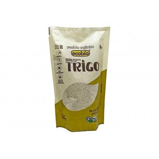 Farinha de Trigo Integral Orgânica 400g - Ecobio