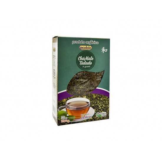 Chá Mate Tostado Orgânico 250g - Ecobio