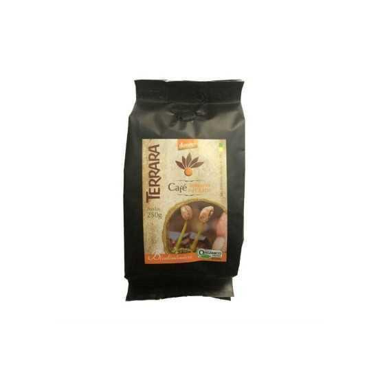 Café Torrado em Grãos Orgânico e Biodinâmico 250g - Terrara