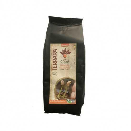 Café Torrado em Grãos Orgânico e Biodinâmico 500g - Terrara