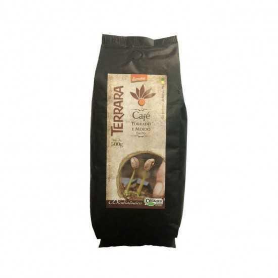 Café Torrado e Moído Orgânico e biodinâmico 500g - Terrara