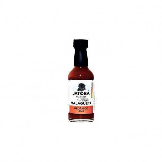 Molho de Pimenta Malagueta Orgânico 45ml - Jatobá
