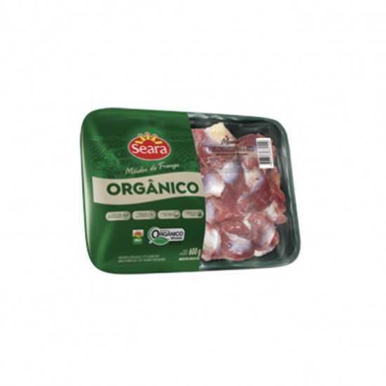 Moela de Frango Orgânico em Bandeja 600g - Seara