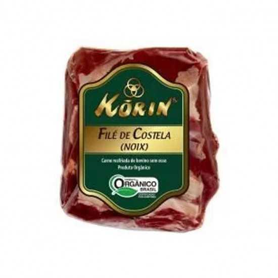 Filé de Costela Ribeye Bovina Orgânica Congelada (800g - 1.0kg) - Korin