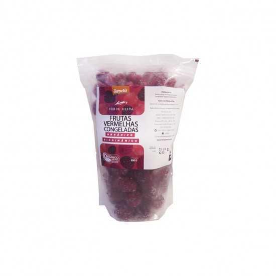 Frutas Vermelhas Congelada Orgânica e Biodinâmica 500g - Verde Oliva