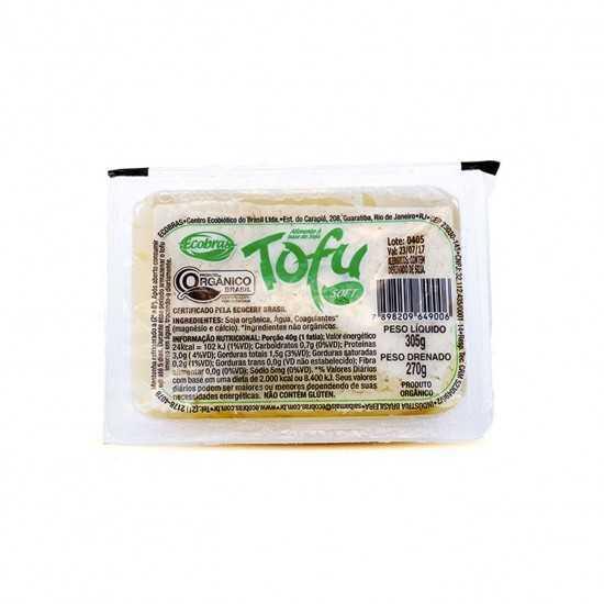 Tofu Soft Orgânico 270g - Ecobras