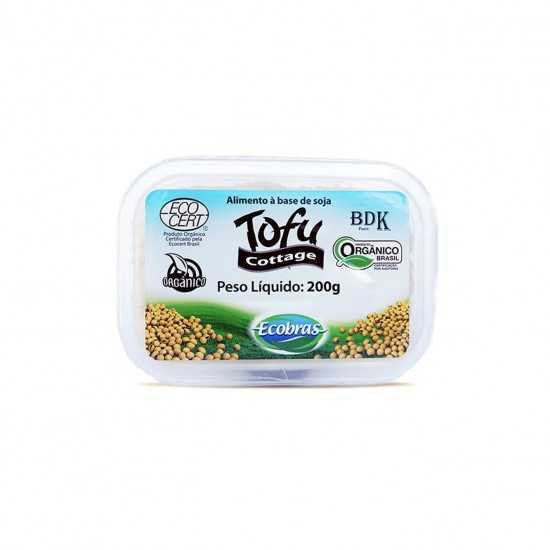 Tofu Cottage Orgânico 200g - Ecobras