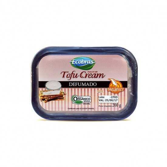 TofuCream Defumado Orgânico 200g - Ecobras