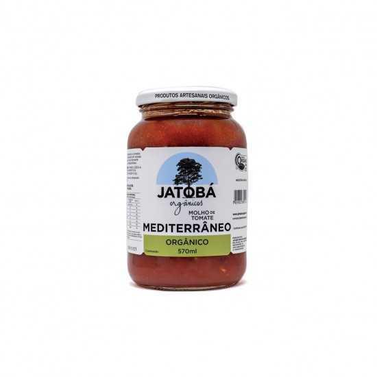 Molho de Tomate Mediterrâneo Orgânico 570ml - Jatobá