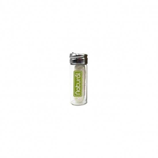 Fio Dental Ecológico De Milho + Embalagem Reutilizável de Vidro - Orgânico Natural